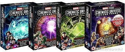 Marvel Cinematic Universe Phase 1 2 3 [Blu-ray] Collectors Edition 1-3 Avengers