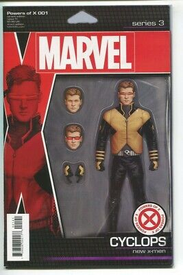 Powers of X #1 Christopher Action Figure variant 1st print X-Men Marvel Comics