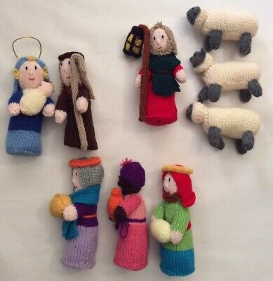 Knitted Christmas Nativity Scene - Gorgeous!