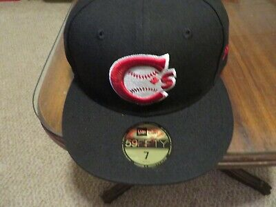 Vancouver Canadians New Era Authentic 59FIFTY Fitted Hat - Black- New