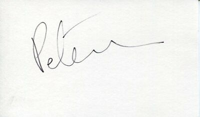 Peter Asher British Singer Peter and Gordon Producer Rare Signed Autograph