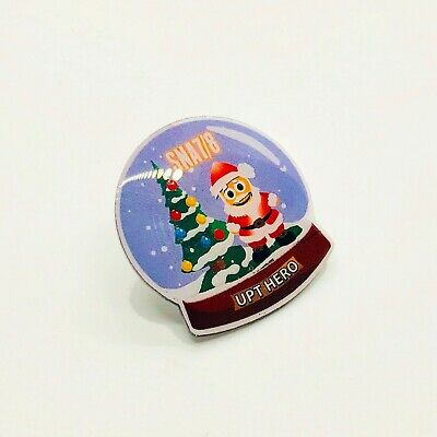 *RARE* AMAZON Snowglobe Peccy Pin