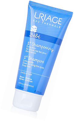 Uriage 1Er Shampooing Extra Gentle Soap-Free Shampoo for Children, 200