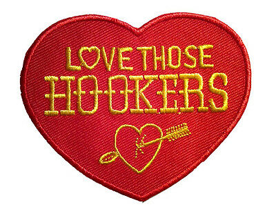 HOOKER HEADERS PATCH EMBROIDERED IRON ON hot rod muscle car auto racing jacket