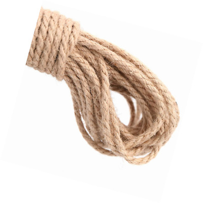 Multipacks 50 Meters 2 Ply Strong Jute Thick Twine Natural Hessian String Cord