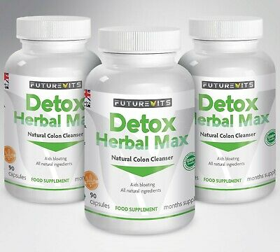 Colon Cleanse Capsules Detox Pills Cleanser 17 Active Ingredients Weight Loss