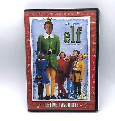 Elf 2 Disc DVD Family Classic Christmas Movie Will Ferrell Comedy