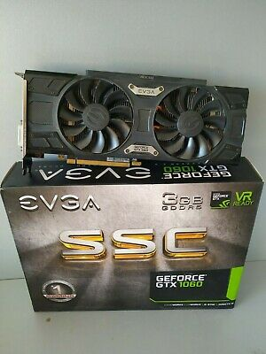 EVGA Video card GeForce GTX1060 3GB GDDR5