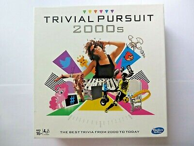 Hasbro - Trivial Pursuit 2000s Party Board Game From 2000 to Today. Used Once.