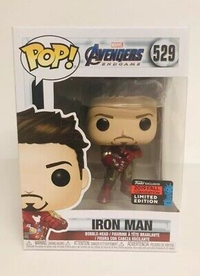 Funko Pop Iron Man Avengers End Game 2019 NYCC Shared Exclusive In Hand