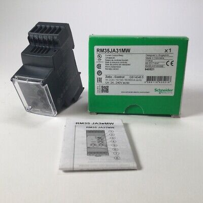 Schneider Electric RM35JA31MW Current Control Relay Zelio Control New NFP