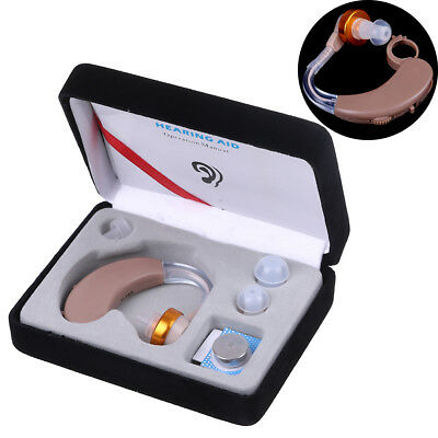 AXON V-163 bte hearing aid/aids behind the ear adjustable tone sound ampZJP
