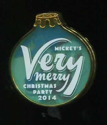WDW Mickey's Very Merry Christmas Party 2014 Donald & Daisy LE Disney Pin 106540