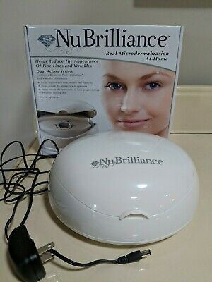 NU BRILLIANCE Real Microdermabrasion Action At Home