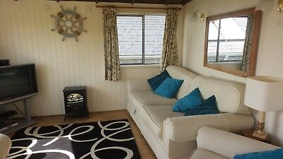 Chalet in Church Bay Anglesey Sea views dog friendly late offer 25th Oct 3 night