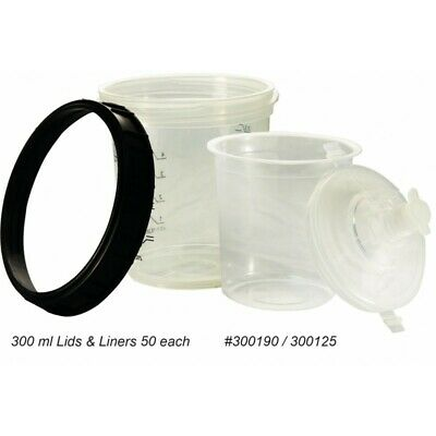 6 oz Disposable Paint Cups 190 Micron (Compare to 3M PPS 16114 & 16314 ) Box 50