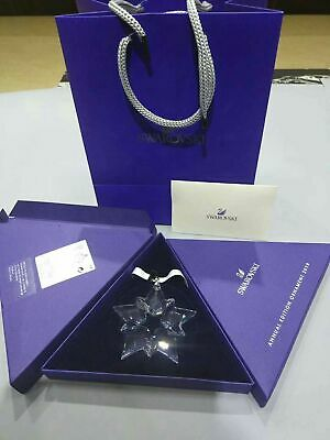 2019 Swarovski Crystal Snowflake Christmas Star Ornament 5427990