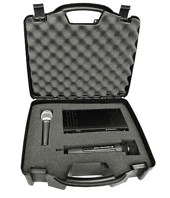 XL Microphone Case fits Sennheiser Mics , Shure , VocoPro , AKG and More