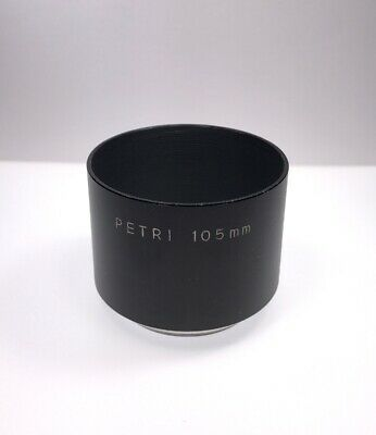 Genuine Petri Screw-in Lens Hood for 105mm f/3.5 Kuribayashi K.C. Petri Orikkor