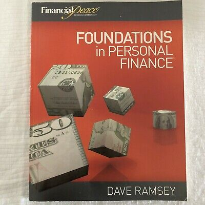 Dave Ramsey Financial Peace Foundations in Personal Finance Student Workbook