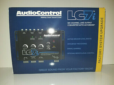 AudioControl LC7i 6-channel line output converter with bass restoration lc7 i
