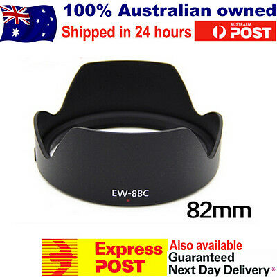 Camera Lens Hood EW-88C for Canon EF 24-70mm f/2.8L II USM 82mm Size Filter EOS