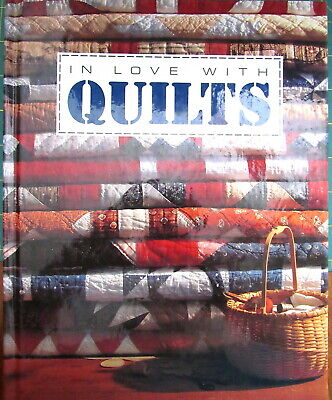 """In Love With Quilts"" Quilt Pattern Book, Quilts/Pillows/Table Runner/Apron"