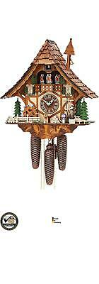 German Cuckoo Clock 8-Day-Movement Chalet-Style  BRAND NEW ITEM!!!