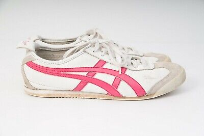 Asics Onitsuka Tiger Mexico 66 Classic Blue White Red HL474 Womens Size 10 42