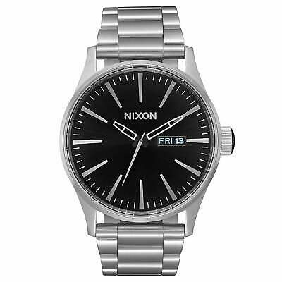 Nixon Sentry Ss Homme Montre - Black Sunray Une Taille