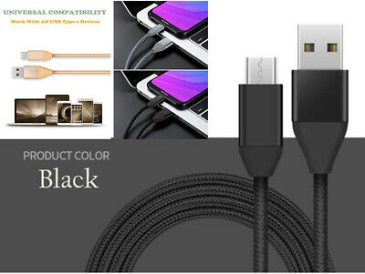 USB Type C Cable Nylon Braided Fast Charger Cable For Samsung Huawei Google Oppo