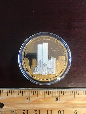 2001-2006 World Trade Center Towers Fifth Anniversary Commemorative Proof Coin
