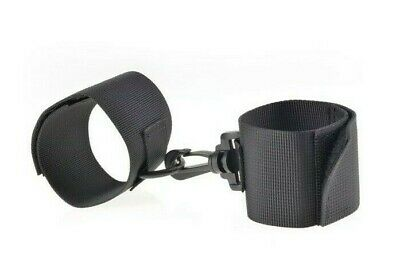 Manette bondage fetish cuffs nero costrittivo in nylon cuffs limited sexy black
