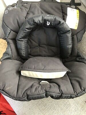 Replacement Seat Cover fits Maxi Cosi CabrioFix 0 FULL SET MELANGE maroon