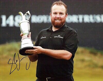 Shane LOWRY SIGNED AUTOGRAPH The Open Portrush Golf 14x11 Photo 4 AFTAL COA