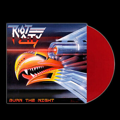 Riot City - Burn The Night (Red Vinyl) Lp