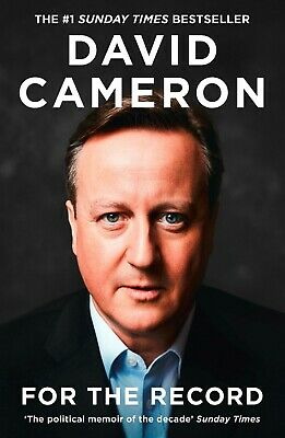 For the Record by David Cameron (2019, Hardback)