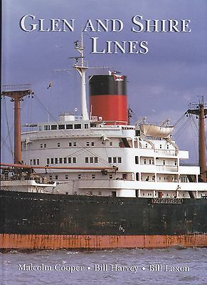 Glen and Shire Lines Merchant Fleets Shipping Line by Cooper, Harvey & Laxon
