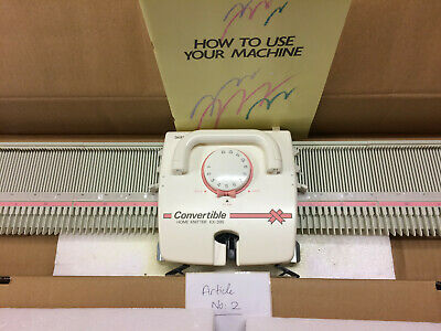 BROTHER KNITTING MACHINE KX 395 HOME KNITTER Article no 2