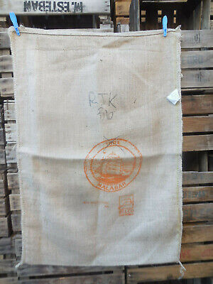 Sac de café en toile de jute Inde decor voilier Malabar Coffee burlap bag sack