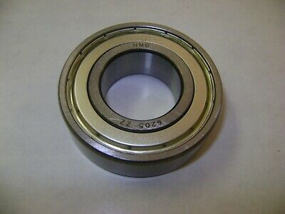 10 NMD 6205-2RS Bearings 25x52x15 GREASED WITH RUBBER SEALS