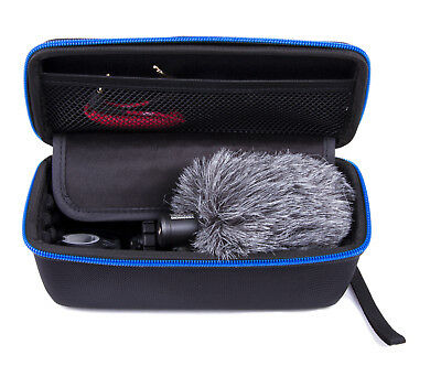 Studio Mic Case Fits Rode Videomicro Compact On-Camera Microphone and Windscreen