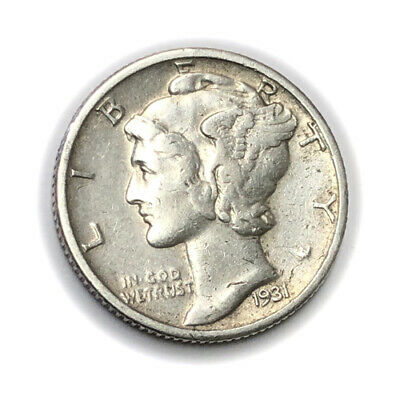 Better 1931-S 10C Mercury Dime Silver *Lot-B