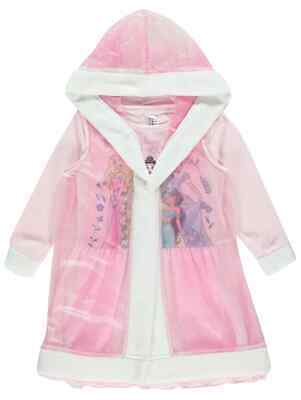 Disney princesses Nightdress and Cape Hooded Gown Robe Cinderella, Aurora,Belle