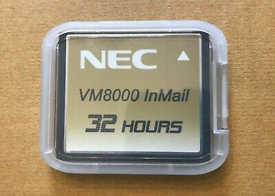 NEC Univerge VM8000 InMail 32 Hour CompactFlash Card