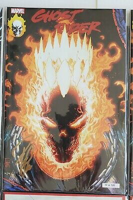 2019 NYCC SIGNED Philip Tan Ghost Rider #1 Glow in the Dark Exclusive 141/1500