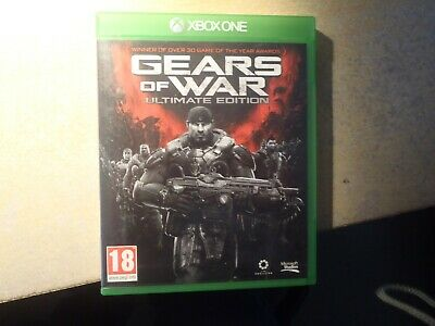 Gears Of War : Ultimate Edition - Xbox One game. UK release. Used. Fast dispatch