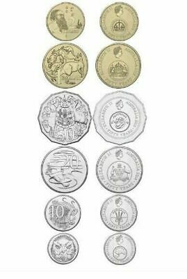 2016 Set 6 Uncirculated Coins 1966 Decimal Currency Changeover Free Post