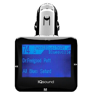 New Supersonic Wireless Fm Transmitter With 1.4 in Black