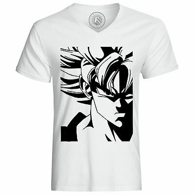 T Shirt Homme Dragon Ball Super Son Goku Super Saiyan Noir